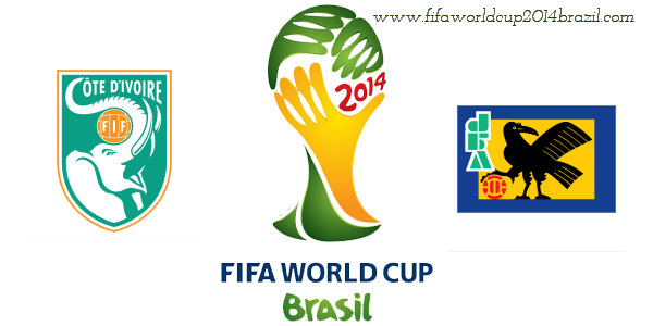 Watch Ivory Coast vs Japan World cup 2014 Match Live Streaming with Wallpapers