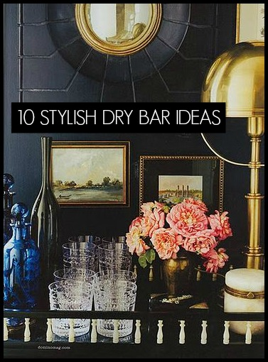 10 STYLISH DRY BAR IDEAS