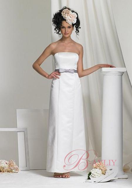 robe de soir e blanche longue coiffure mariage. Black Bedroom Furniture Sets. Home Design Ideas