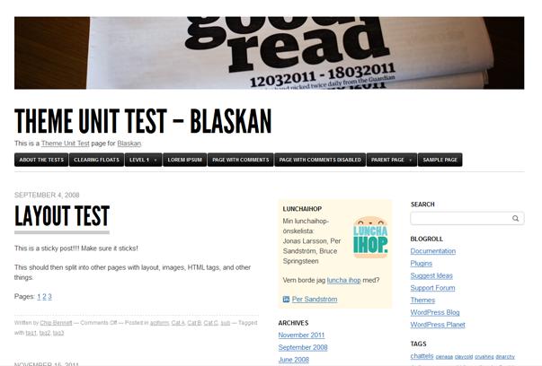 fresh free wordpress themes+%25281%2529 2012 En Güzel Bedava WordPress Temaları indir