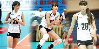 Gambar Foto Sabina Atylnbekova Cewek Cantik Kazakhstan Bintang Volley Idola