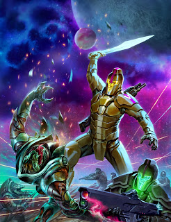 lukas thelin, fenix, kenneth hite, diagoras sector, sci fi art, space marine, spartans, aliens, war