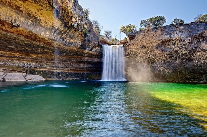 Hamilton Pool Preserve, Texas, USA ~ Entertainment-Enter