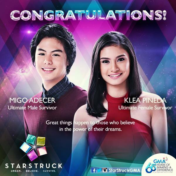 StarStruck 2015 Ultimate Male and Female Survivors