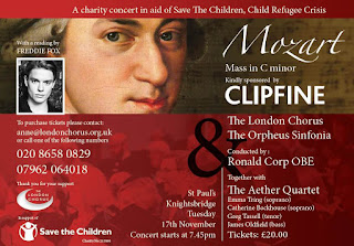 Mozart in aid of Save the Children