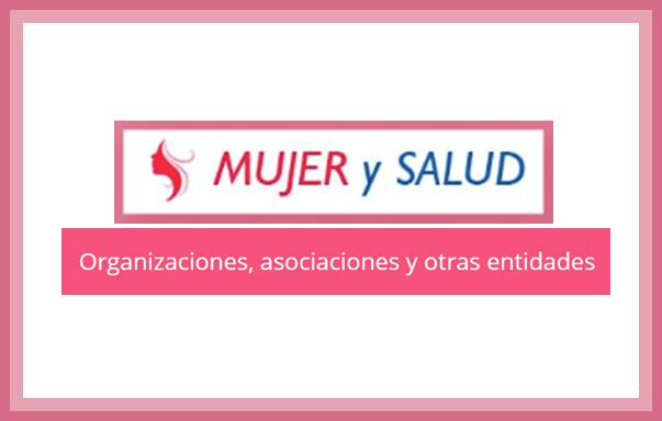 Listado de Asociaciones y Organizaciones en Revista Mujer y Salud