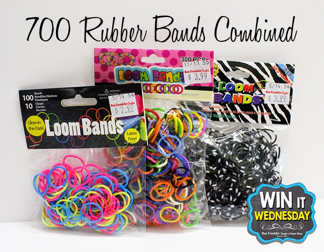 We're adding 3 packs of rubber bands for an additional 700 bands!