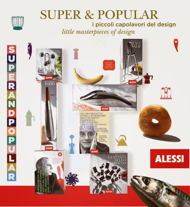 Alessi Super & Popular Pop-Up Store a Parigi