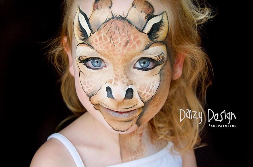 daizy desing pintura facial