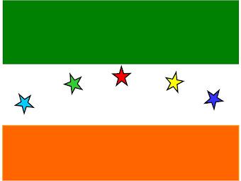Bandera de la Institución