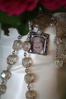 Splendid Stems Event Florals - Bride's Bouquet with locket