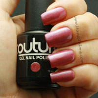 Couture Gel Polish Amethyst Crush Swatch