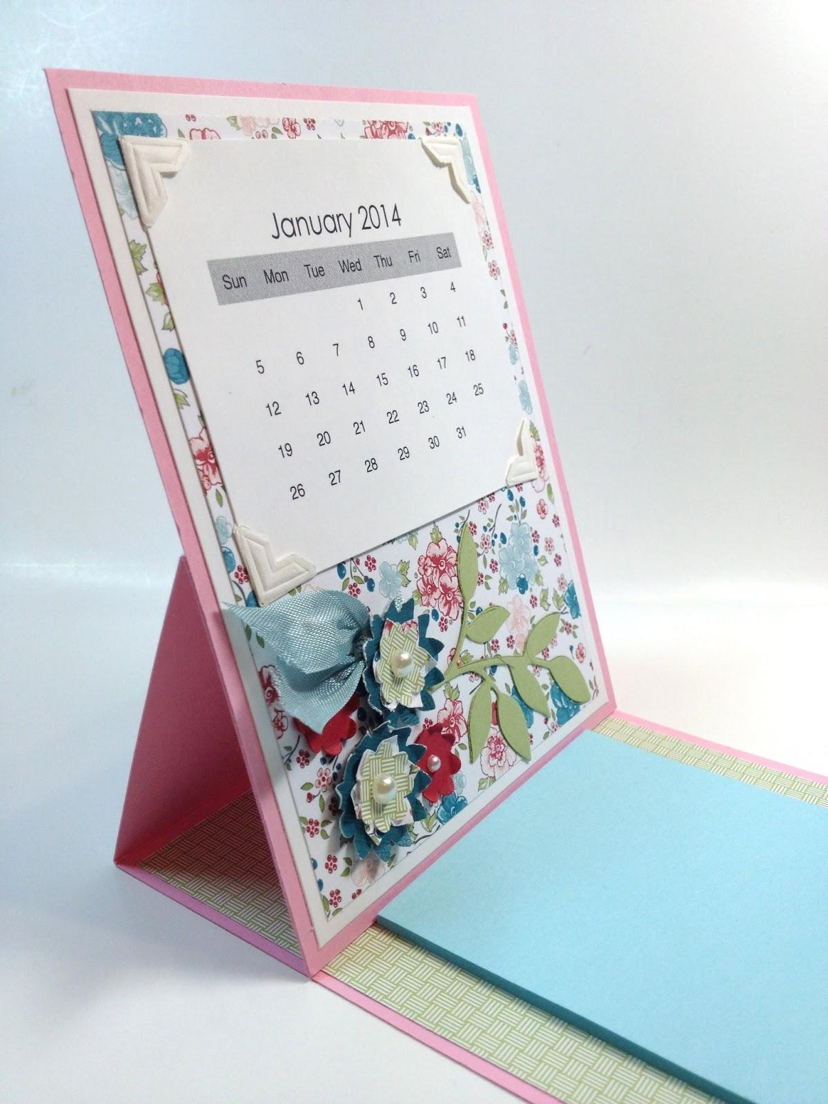 Art Easel Calendar : The paper hen calendar post it note easel