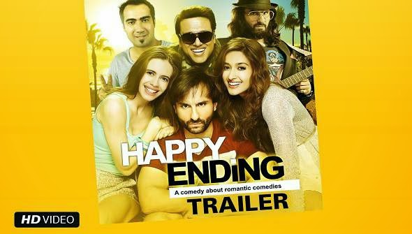 Happy Ending 2014 Movie Poster
