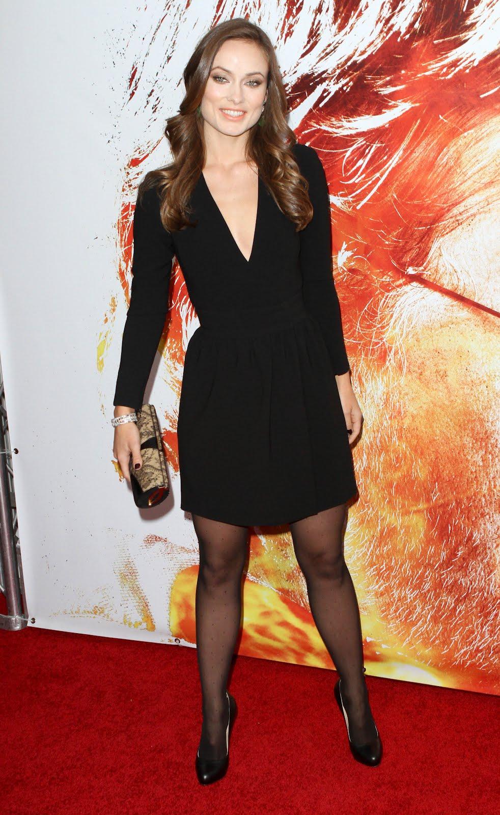 Celebrity Hosiery: Olivia Wilde Olivia