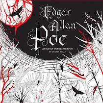 Giveaway - Edgar Allan Poe Colouring Book
