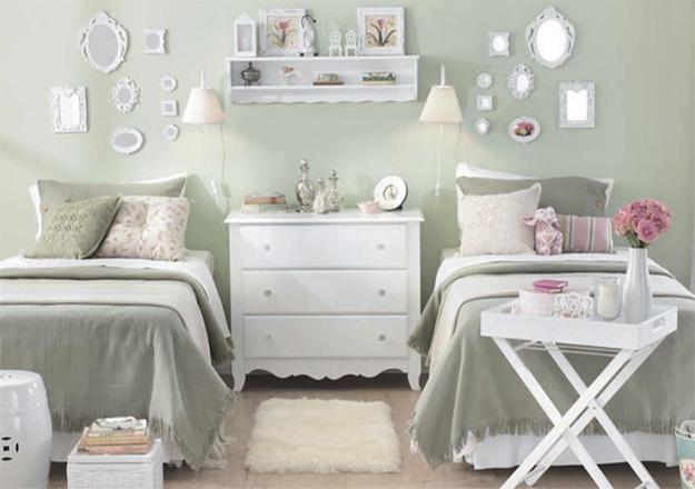 Dicas de decoração e organização para quem divide o quarto  ~ Quarto Pequeno Para Tres Pessoas