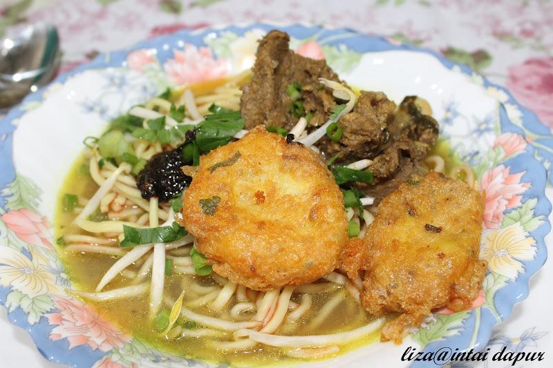 Mee Soto Tulang Johor