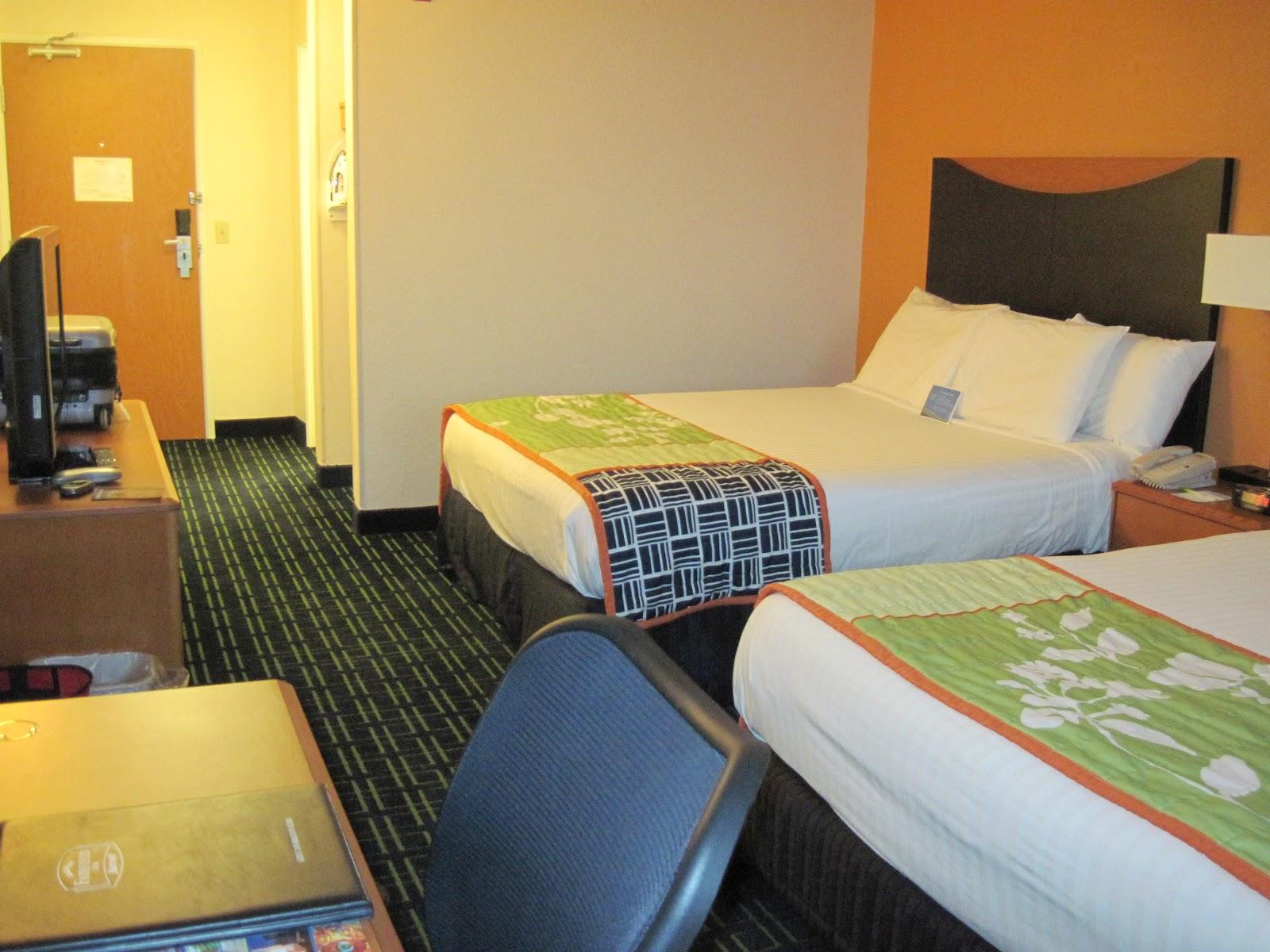 Hotel Room Fairfield Ohio