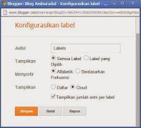 Cara Mudah Membuat Label Berputar di Blog