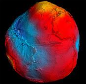 O mapa da gravidade terrestre