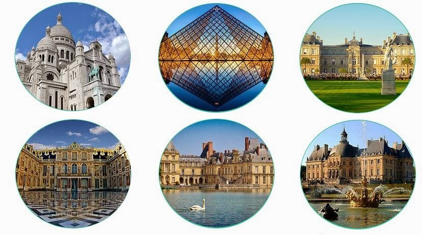 Франция фотоколлаж
