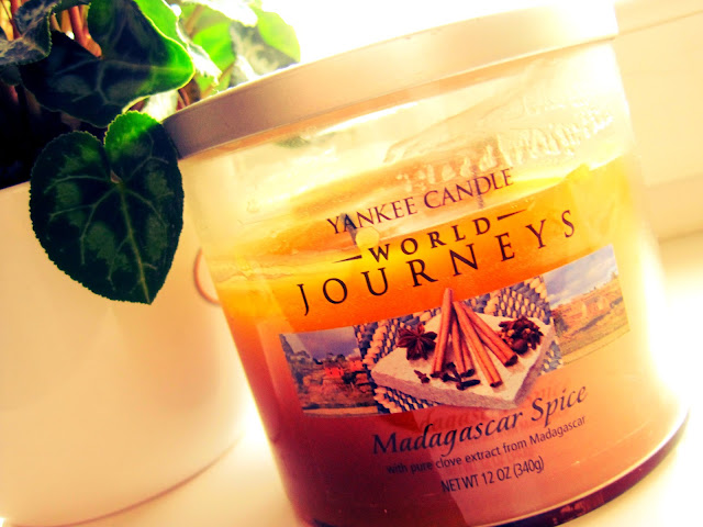yankee candle madagascar spice world journeys vanilla cinnamon