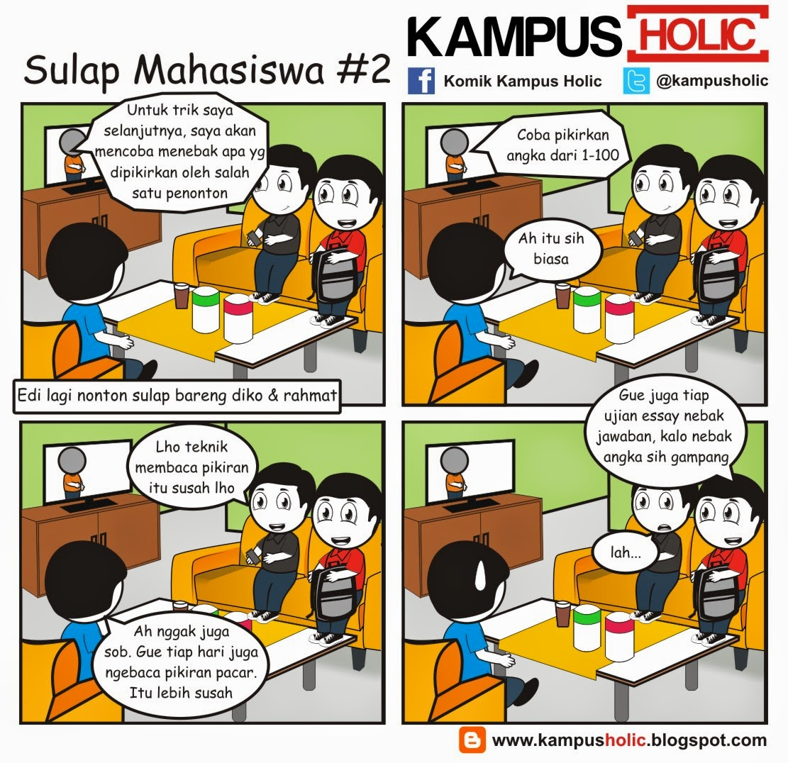#881 Sulap Mahasiswa #2