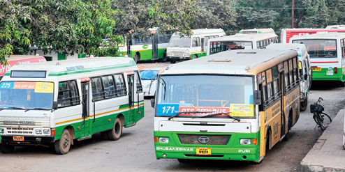 City Bus Service of Berhampur Privatized
