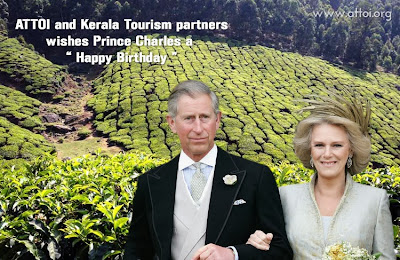 prince charles birthday in kerala, prince charles birthday in kumarakom, prince charles in kerala