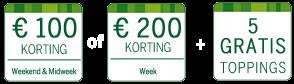 www.centerparcs.nl/om8637 100 of 200 euro korting