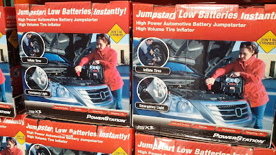 Powerstation PSX3 features Battery Jump Starter, Portable Power Source, and Tire Inflator