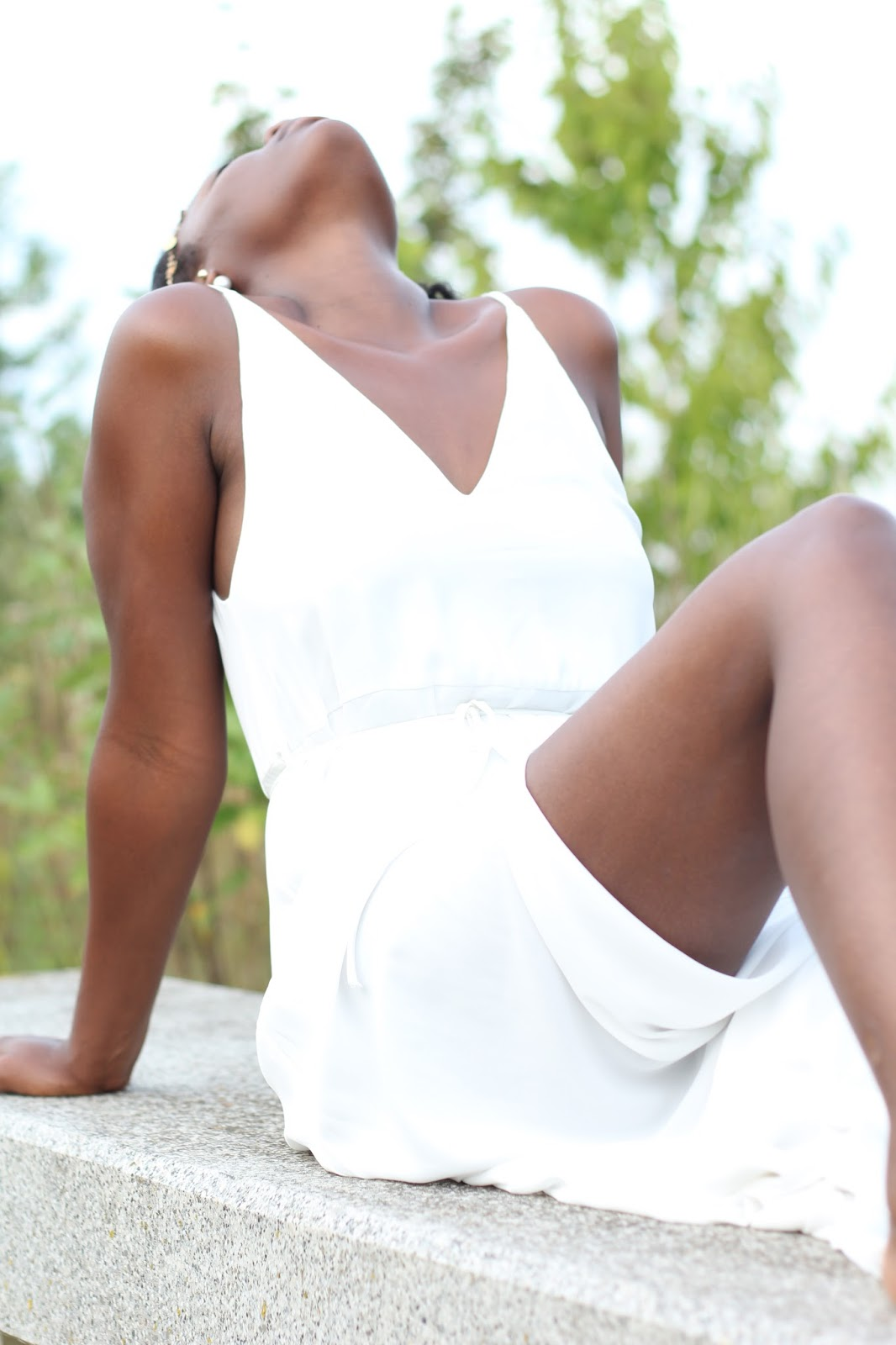 BLOG MODE ET TENDANCE- FASHION BLOGGER-WHITE DRESS