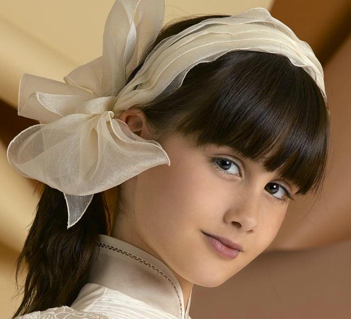 Preciosos peinados con accesorios para niñas 2012/2013 | peinados ...