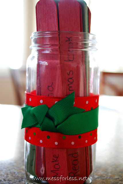 easy Advent Jar