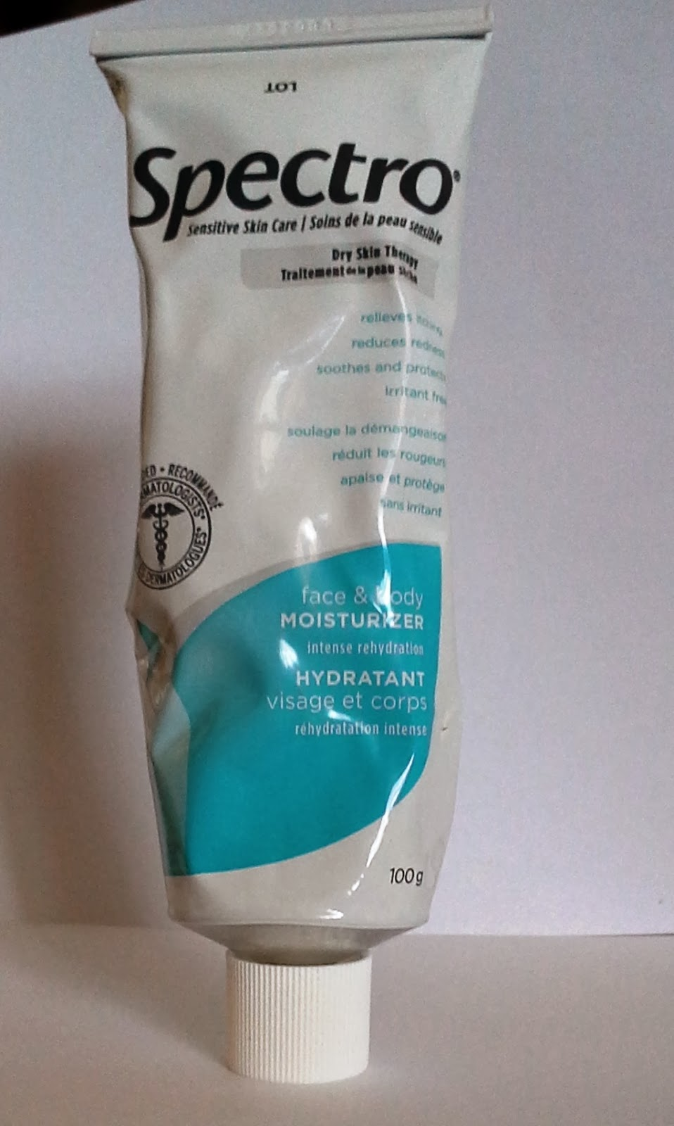 Spectro Dry Skin Therapy Cream Review from Melanie.Ps Blogger for The Purple Scarf Beauty Skincare