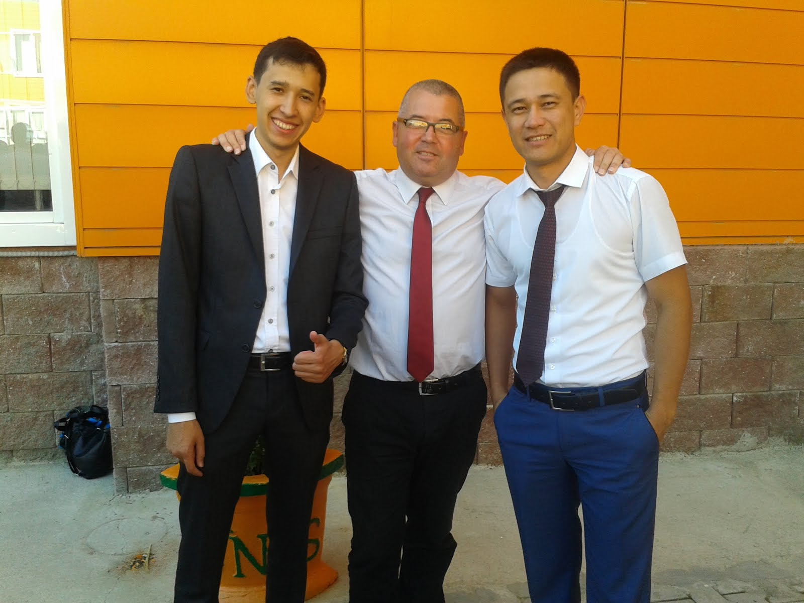 NIS school colleagues, Kazakhstan 2015-17