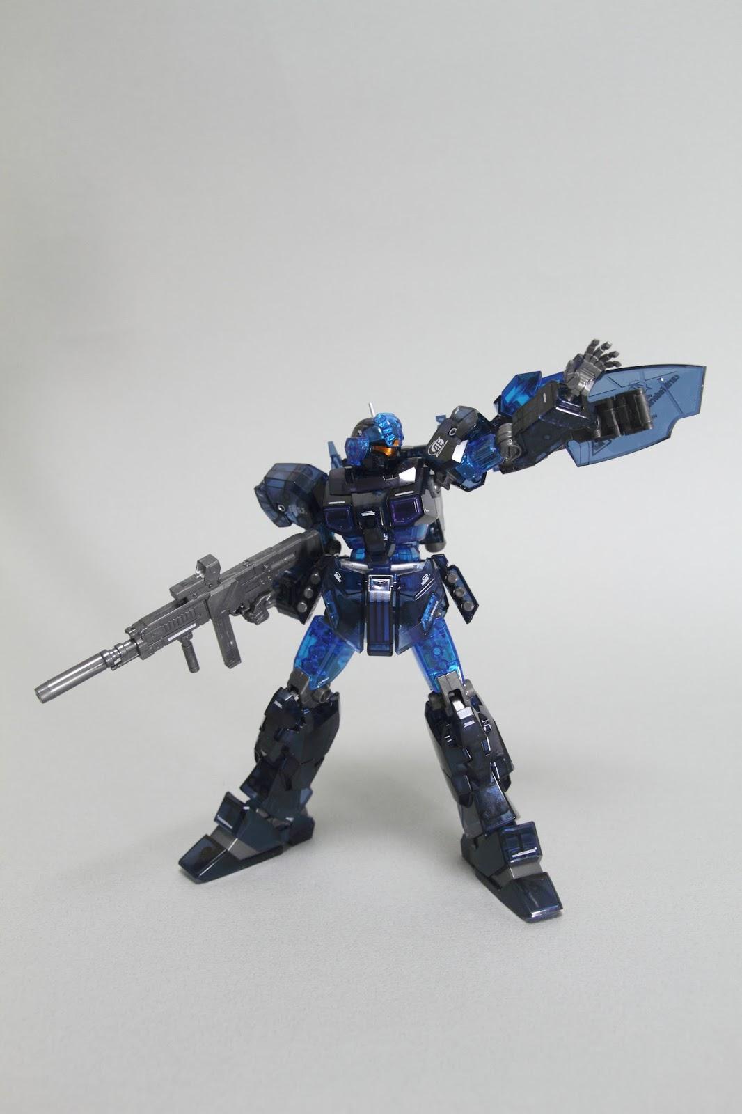 BANDAI GUNDAM HGUC 1//144 RGM-96X JESTA CANNON TRI-STAR CLEAR BLUE Version Model