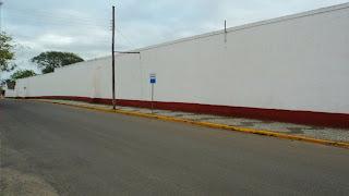 Muro do 9o Regimento de Cavalaria Blindado, em São Gabriel