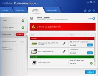 Uniblue PowerSuite 2013 Pro v4.1.7.1 Full Key