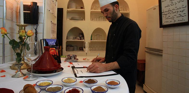 cooking class riad kaiss hotel