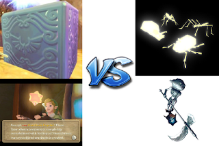 Twilight Princess VS Skyward Sword Sidequest