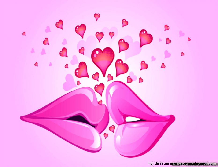 Couple Kissing Valentine Day Wallpaper | High Definitions Wallpapers
