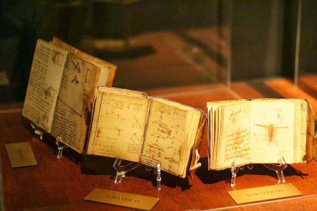 Da Vinci The Genius Exhibit Codices