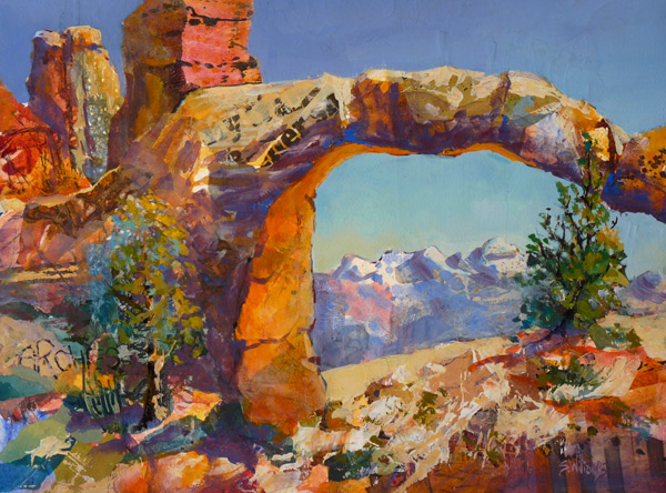 Sharon lynn williams 39 art blog remembering arches for Sharon williams paint