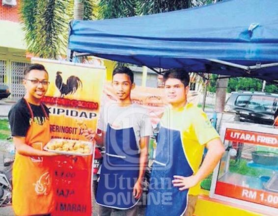 Inspirasi Ayam goreng kipidap RM1