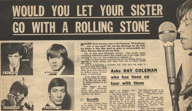 Resultado de imagen de beatles vs stones melody maker