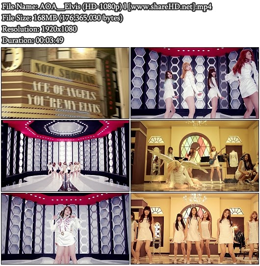Download MV AOA - Elvis (Full HD 1080p)