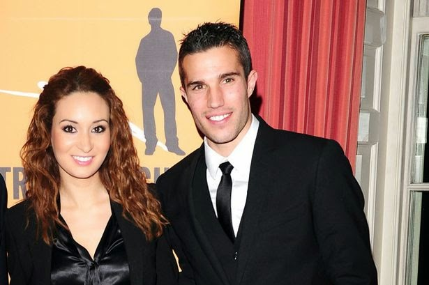 Wife of Robin Van Persie photos