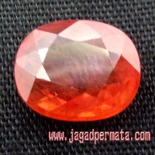 Batu Permata Natural Padparadscha Sapphire